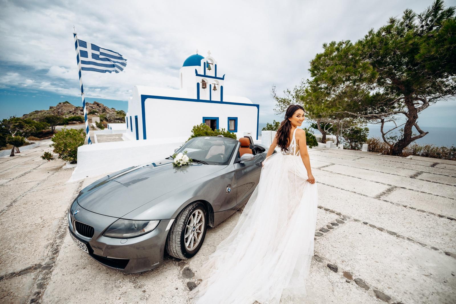 Александра и Евгений: свадьба на санторини, свадебное агентство Julia Veselova - Фото 6