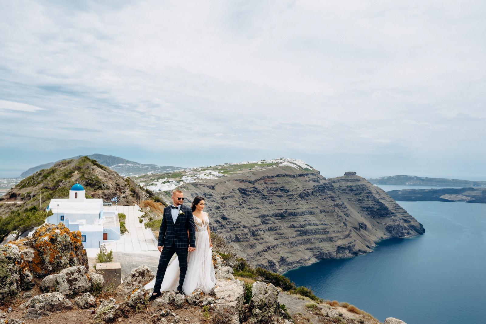 Александра и Евгений: свадьба на санторини, свадебное агентство Julia Veselova - Фото 7