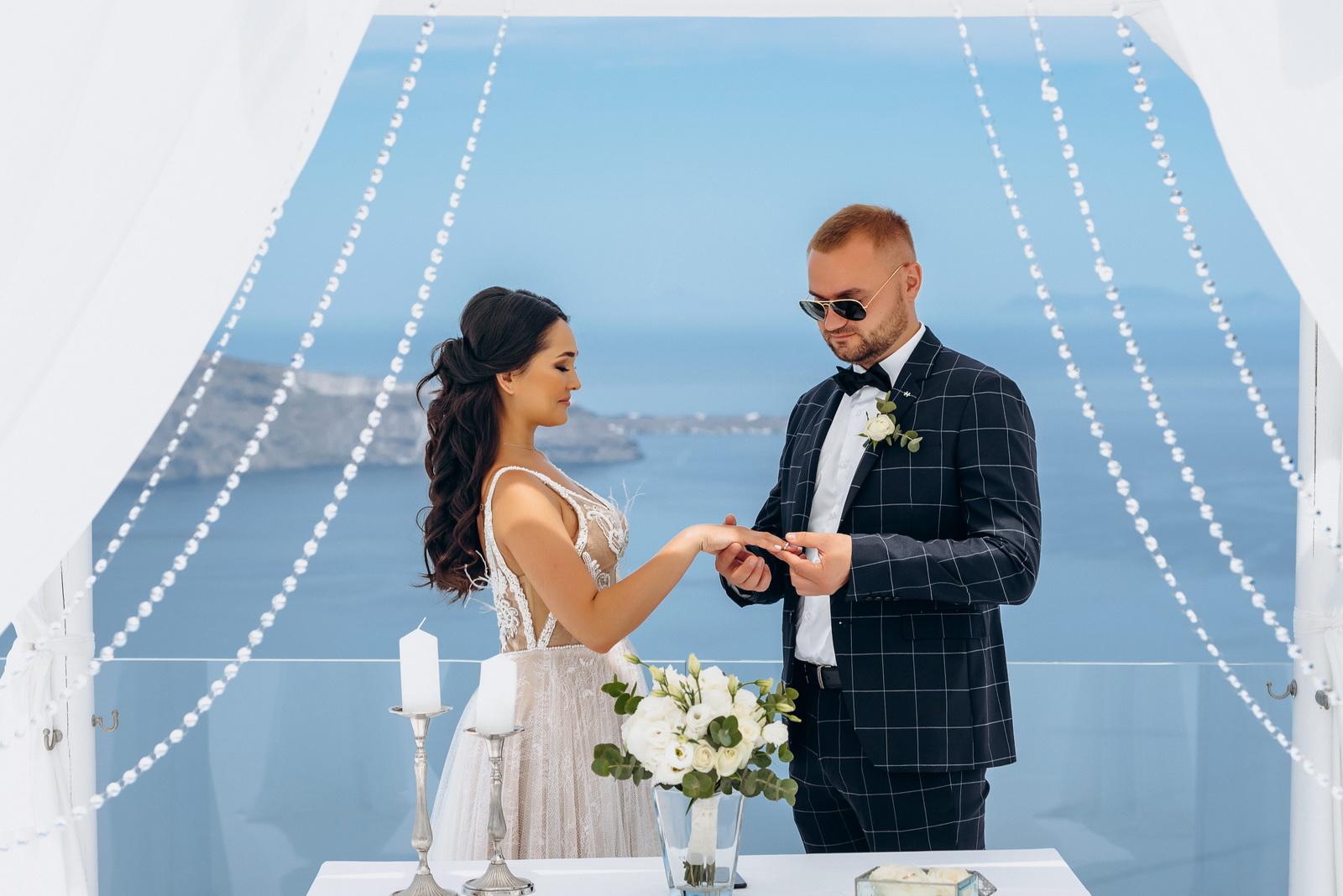 Александра и Евгений: свадьба на санторини, свадебное агентство Julia Veselova - Фото 9
