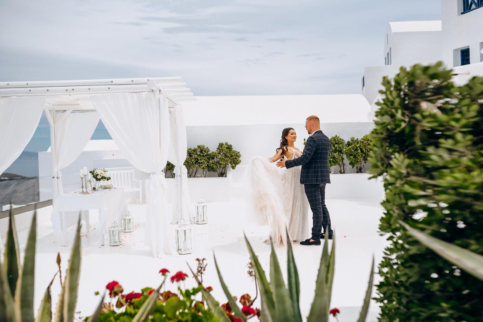 Александра и Евгений: свадьба на санторини, свадебное агентство Julia Veselova - Фото 10