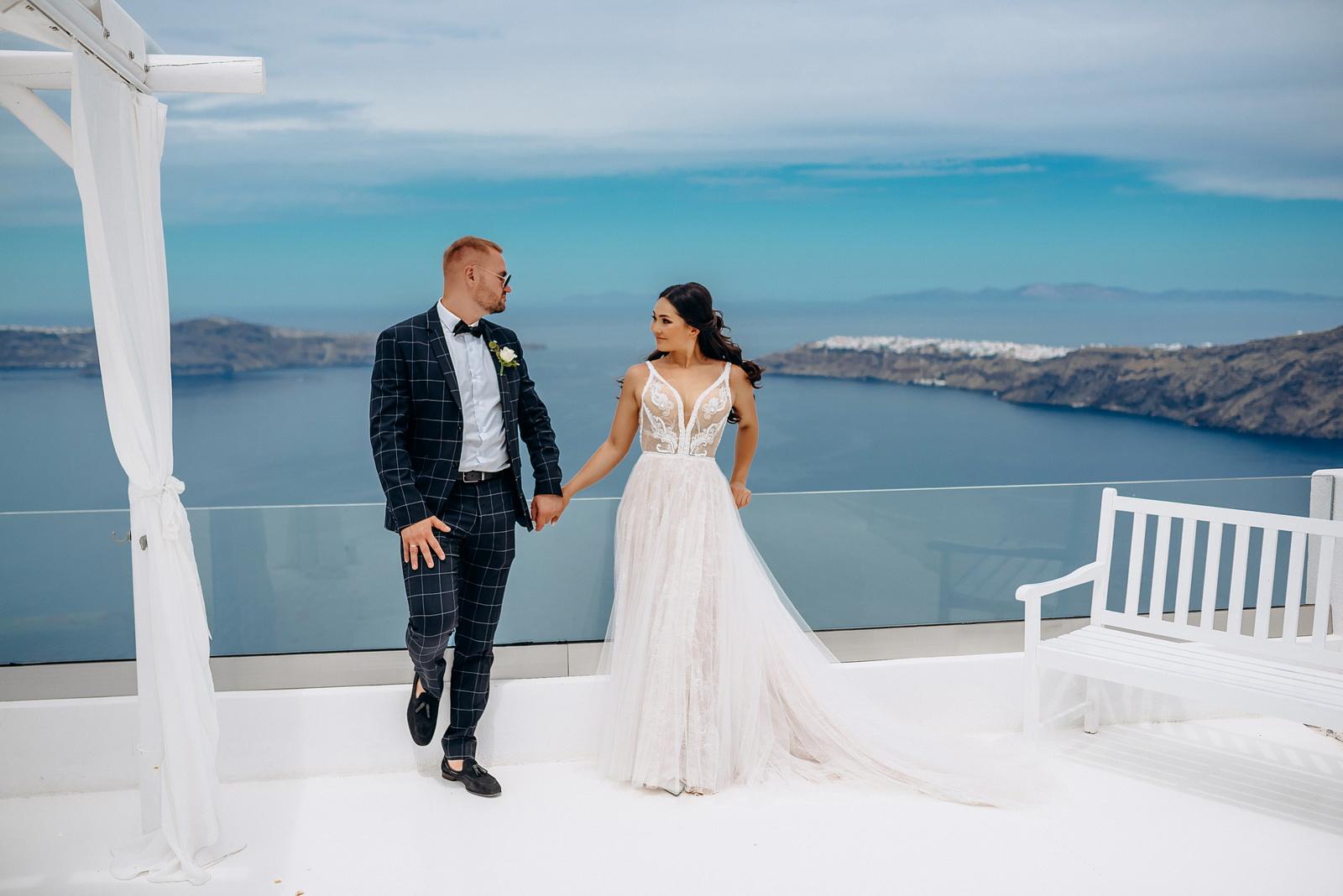 Александра и Евгений: свадьба на санторини, свадебное агентство Julia Veselova - Фото 11