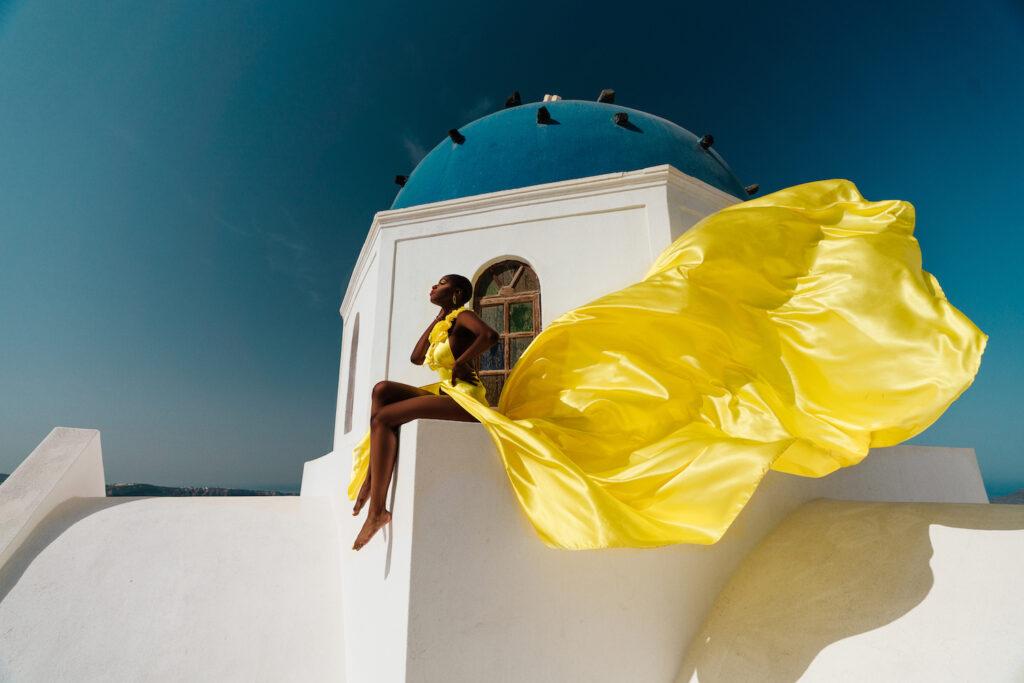 Свадебная фотосессия на Санторини: свадьба на санторини, свадебное агентство Julia Veselova - Фото 2