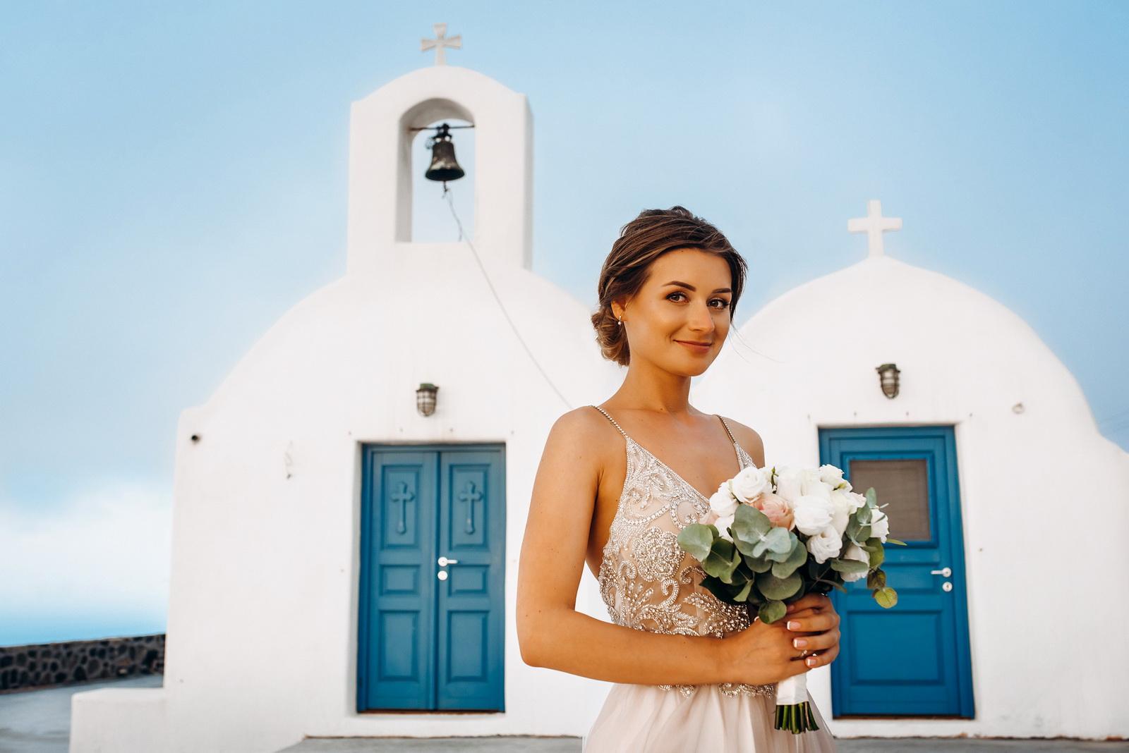 Лилия и Михаил: свадьба на санторини, свадебное агентство Julia Veselova - Фото 10