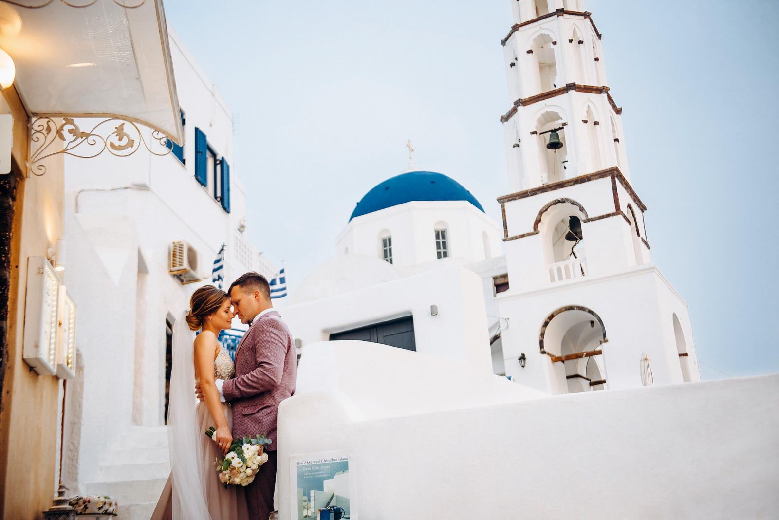 Лилия и Михаил: свадьба на санторини, свадебное агентство Julia Veselova - Фото 11