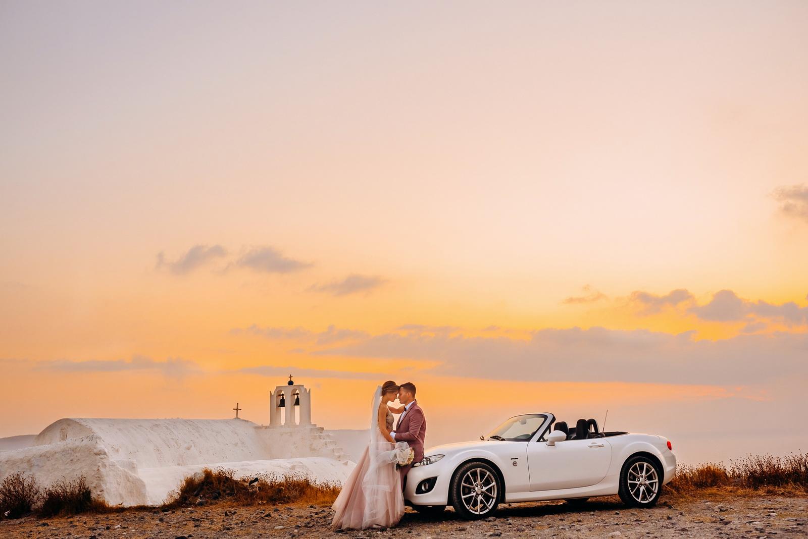 Аренда автомобилей: свадьба на санторини, свадебное агентство Julia Veselova - Фото 3