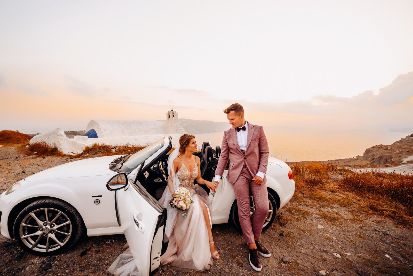 Лилия и Михаил: свадьба на санторини, свадебное агентство Julia Veselova - Фото 13