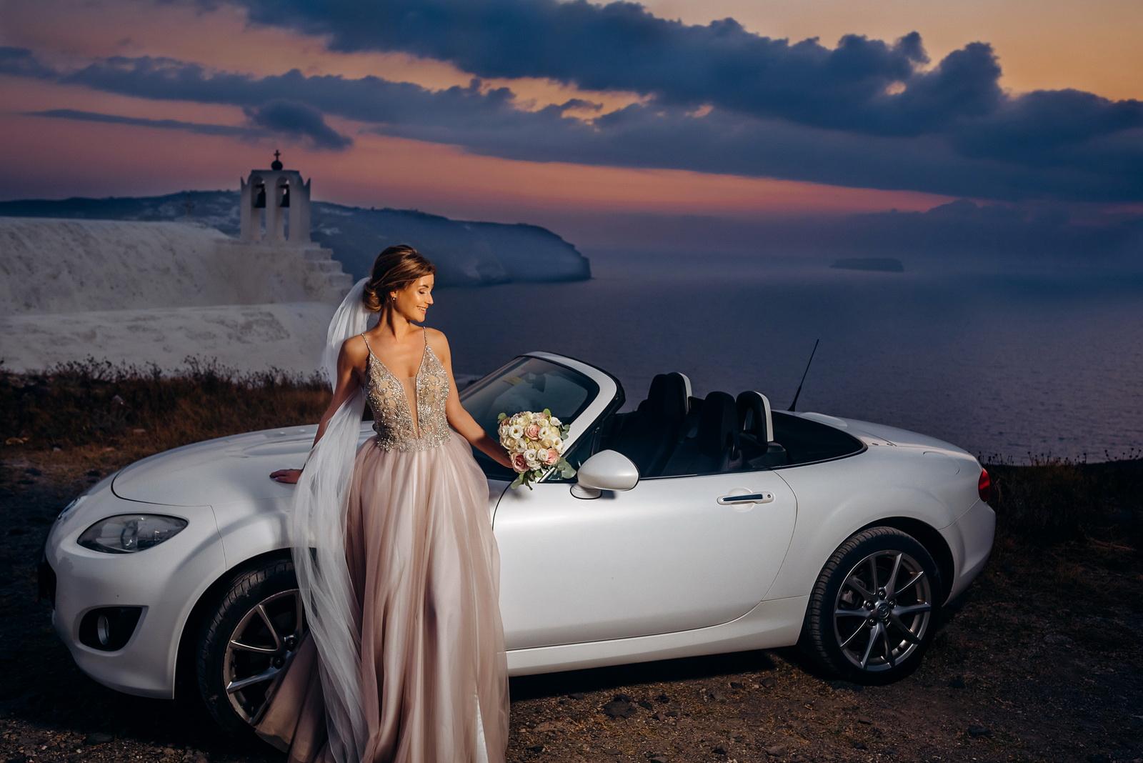 Лилия и Михаил: свадьба на санторини, свадебное агентство Julia Veselova - Фото 14