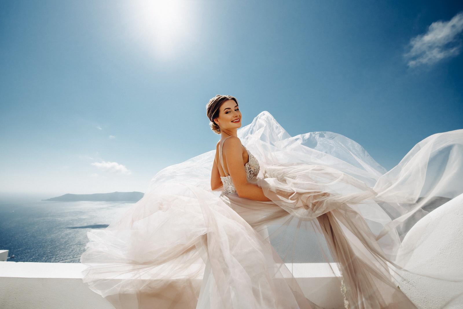 Лилия и Михаил: свадьба на санторини, свадебное агентство Julia Veselova - Фото 3