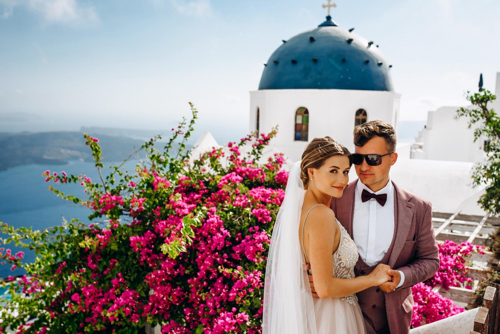 Лилия и Михаил: свадьба на санторини, свадебное агентство Julia Veselova - Фото 7