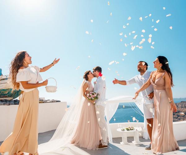 Цены: свадьба на санторини, свадебное агентство Julia Veselova - Фото