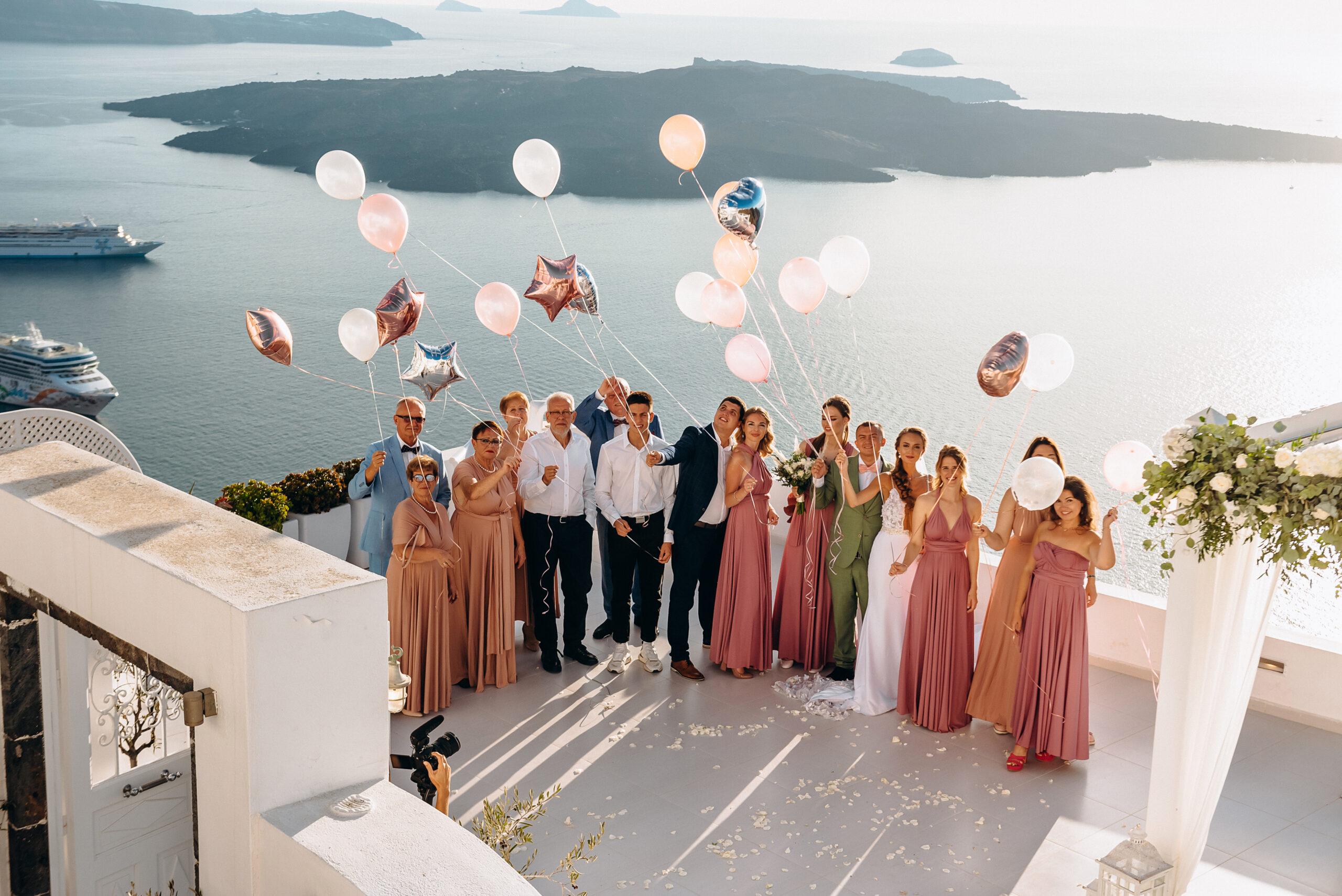 Кристина и Павел: свадьба на санторини, свадебное агентство Julia Veselova - Фото 2