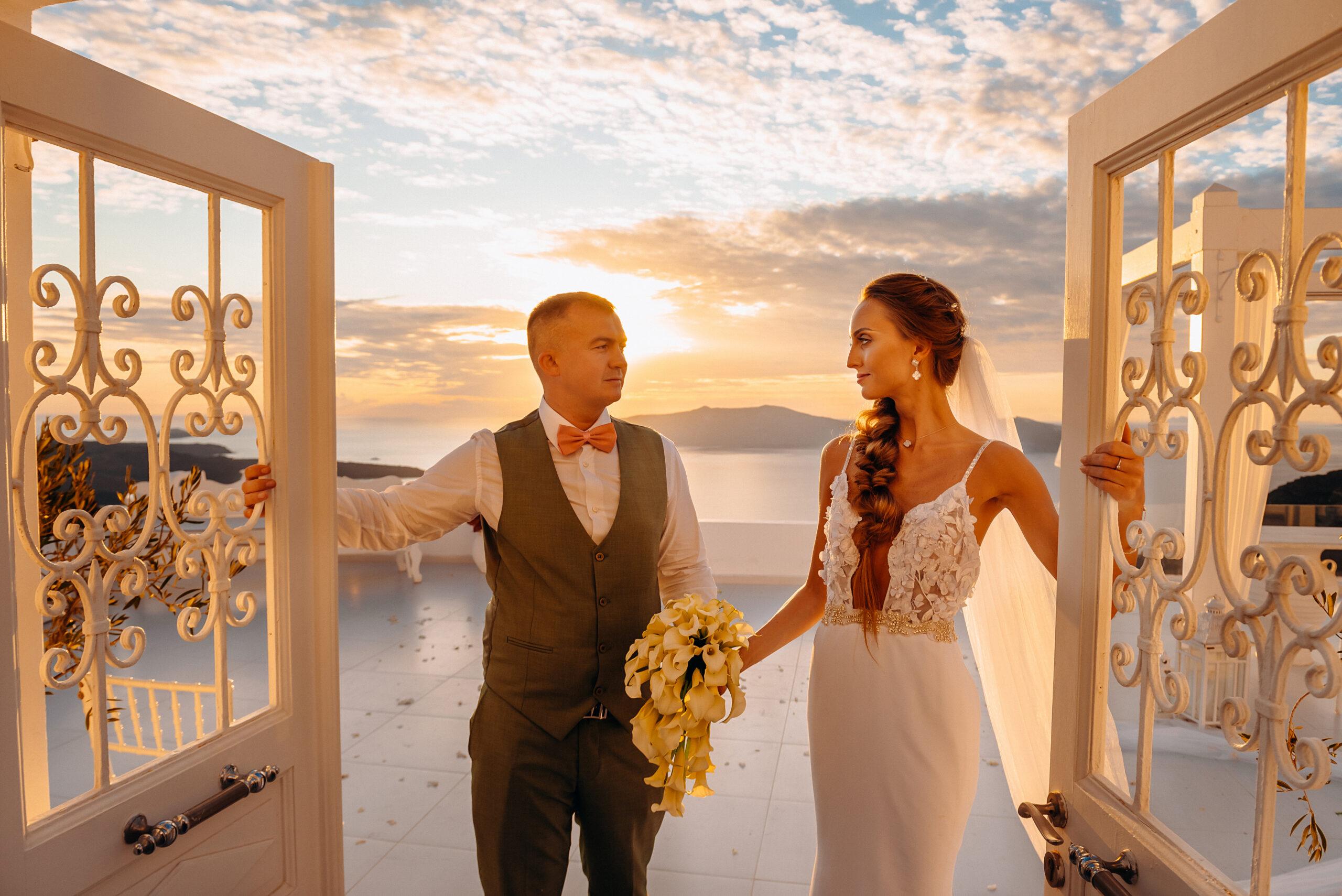 Кристина и Павел: свадьба на санторини, свадебное агентство Julia Veselova - Фото 8
