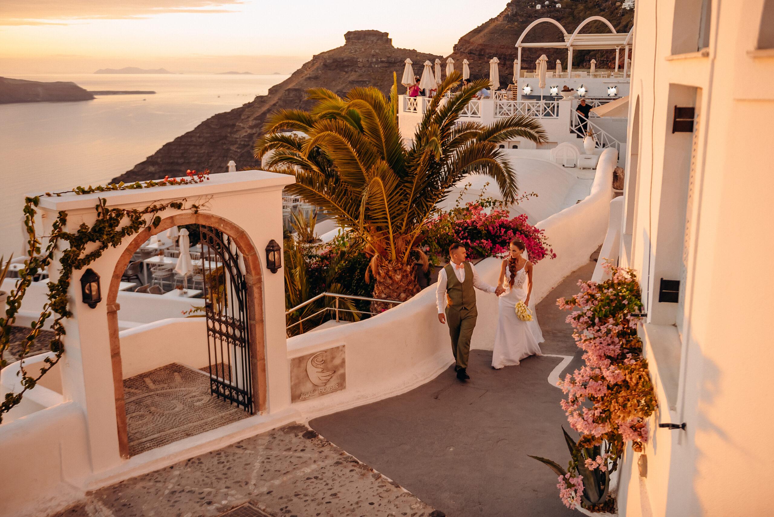 Кристина и Павел: свадьба на санторини, свадебное агентство Julia Veselova - Фото 10