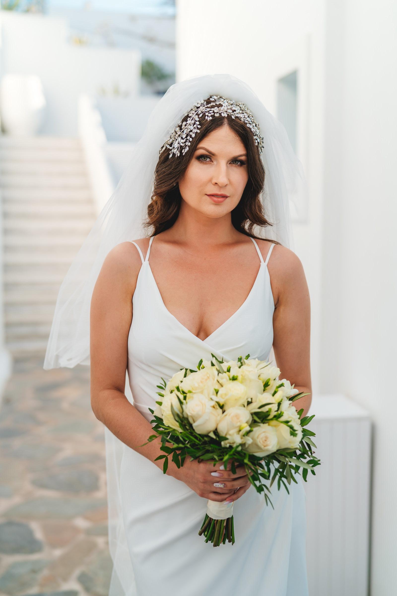 Анастасия и Сурен: свадьба на санторини, свадебное агентство Julia Veselova - Фото 19