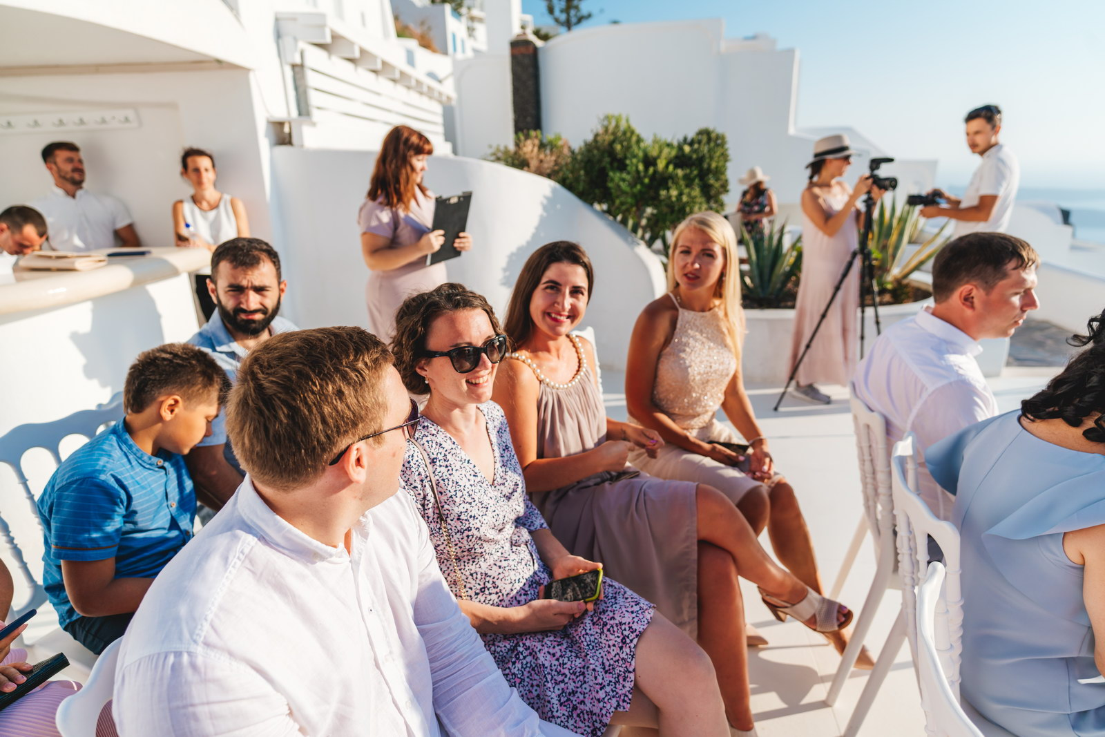 Анастасия и Сурен: свадьба на санторини, свадебное агентство Julia Veselova - Фото 20