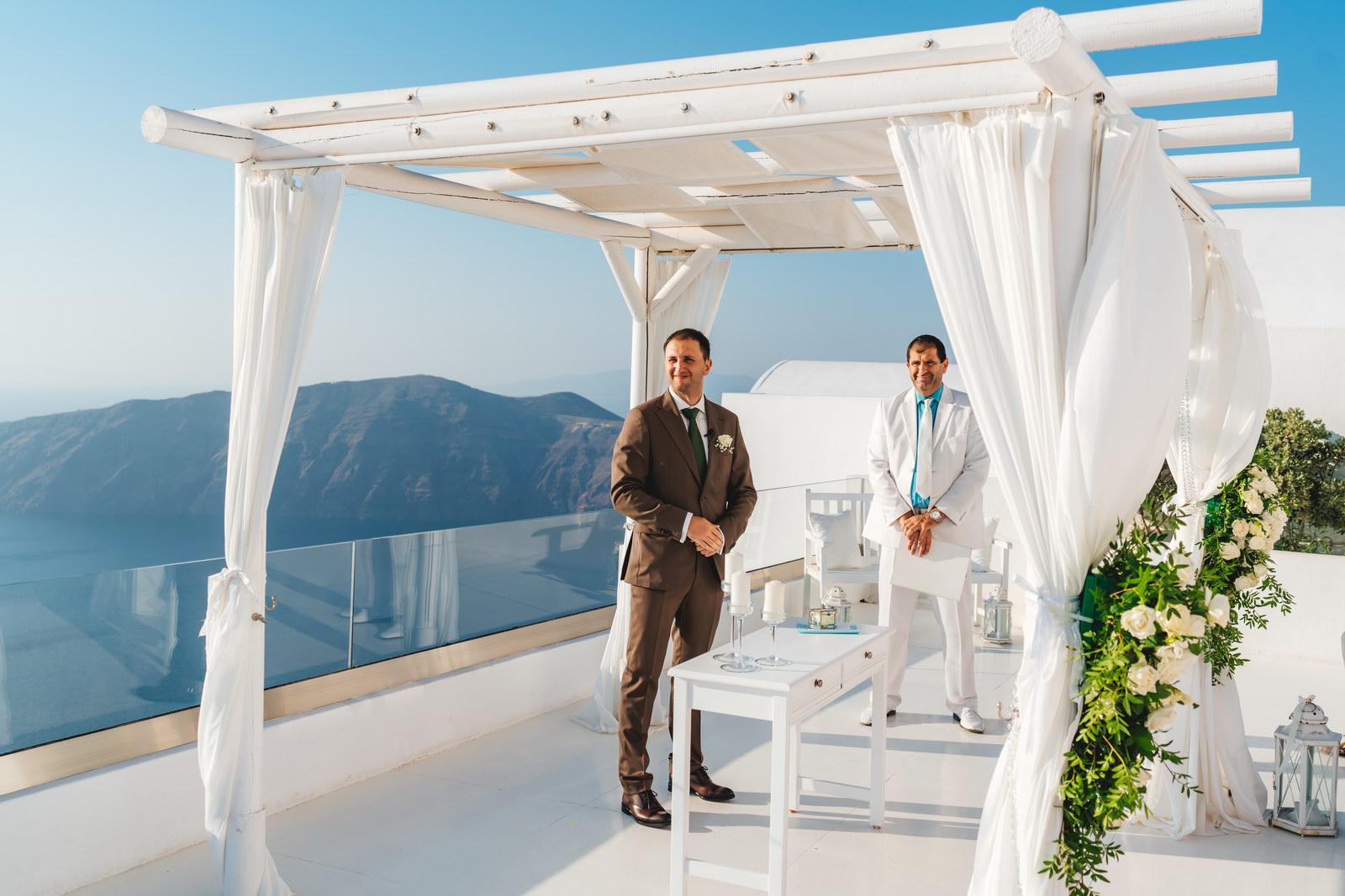 Анастасия и Сурен: свадьба на санторини, свадебное агентство Julia Veselova - Фото 21