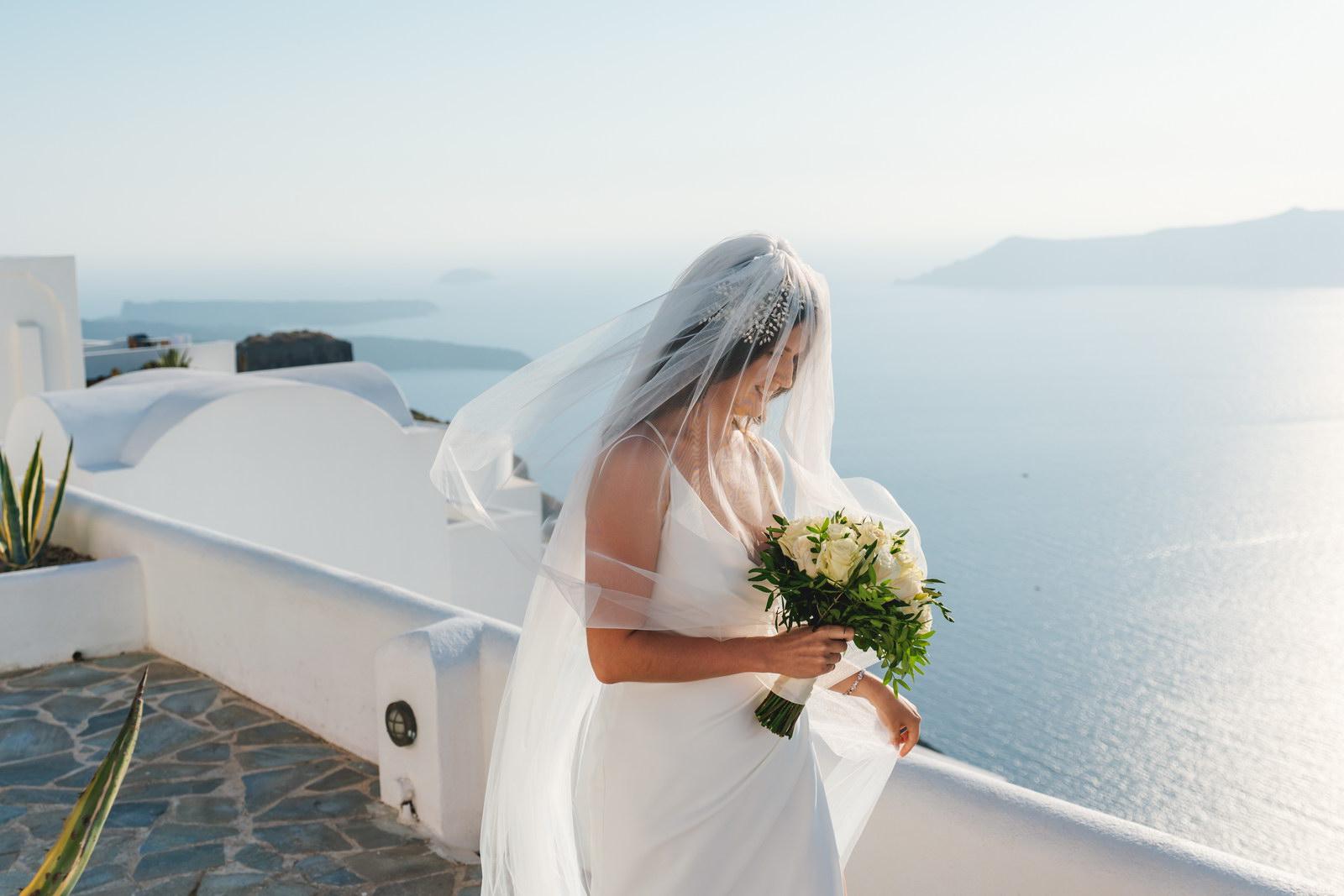 Анастасия и Сурен: свадьба на санторини, свадебное агентство Julia Veselova - Фото 22