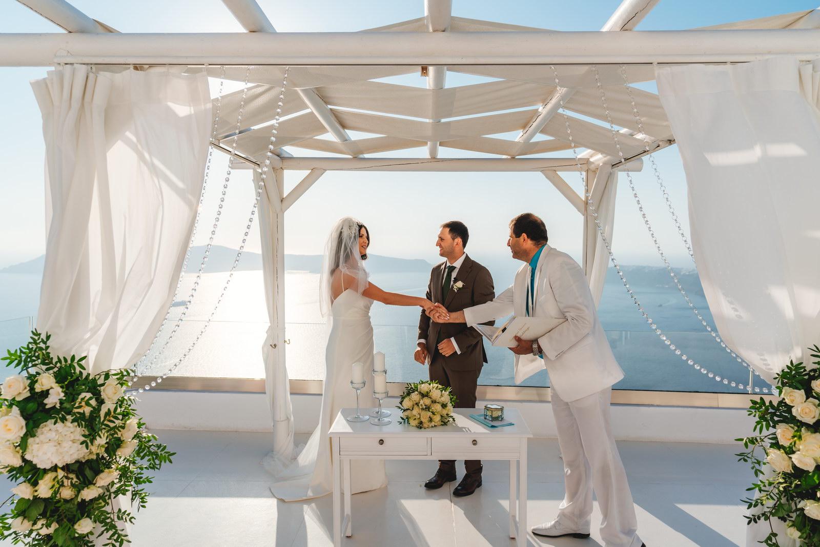 Анастасия и Сурен: свадьба на санторини, свадебное агентство Julia Veselova - Фото 24