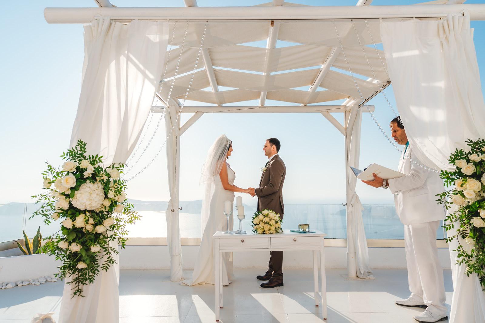 Анастасия и Сурен: свадьба на санторини, свадебное агентство Julia Veselova - Фото 25