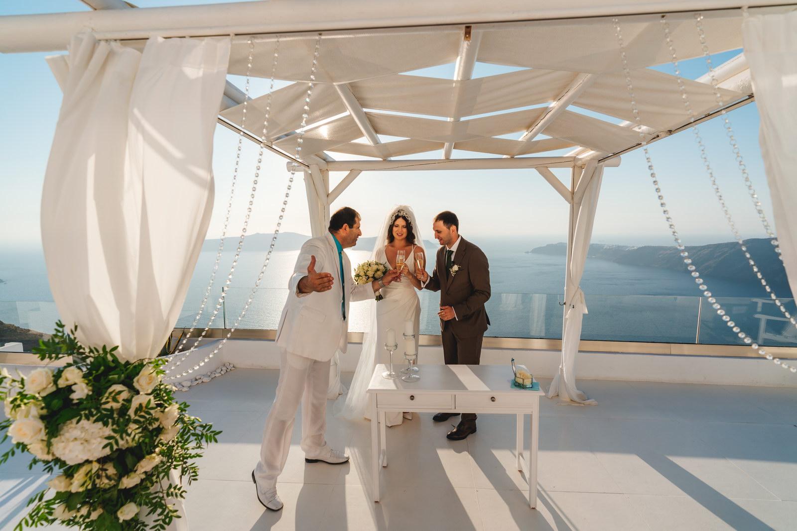 Анастасия и Сурен: свадьба на санторини, свадебное агентство Julia Veselova - Фото 28