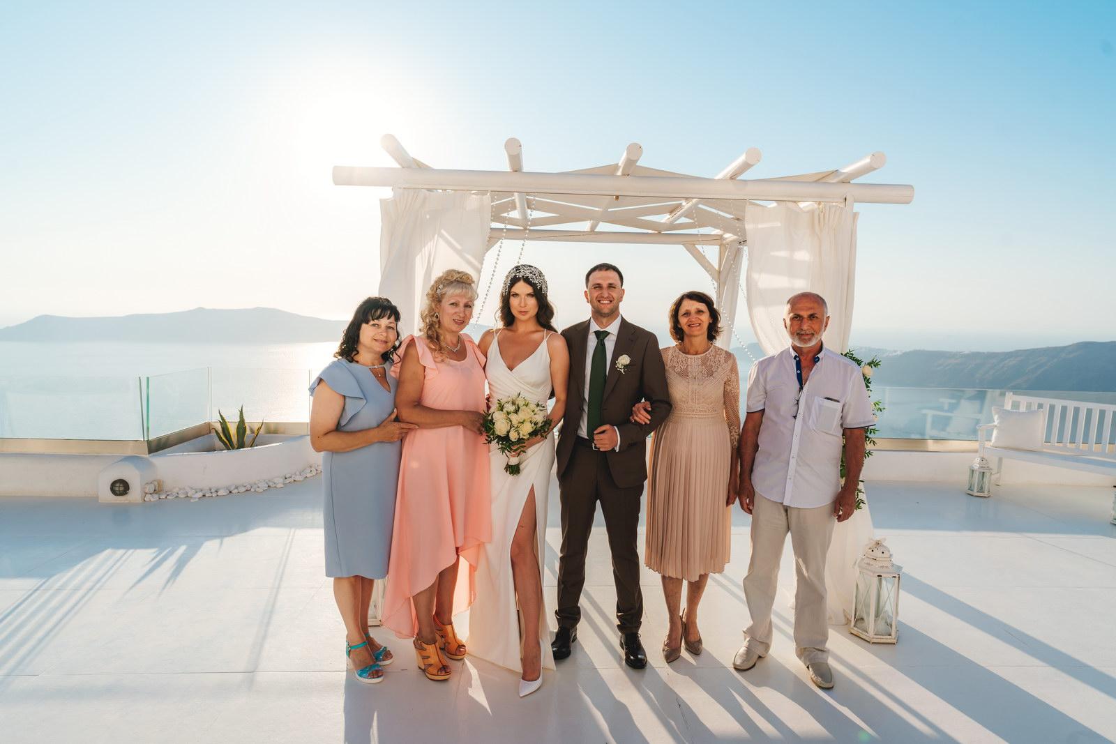 Анастасия и Сурен: свадьба на санторини, свадебное агентство Julia Veselova - Фото 31