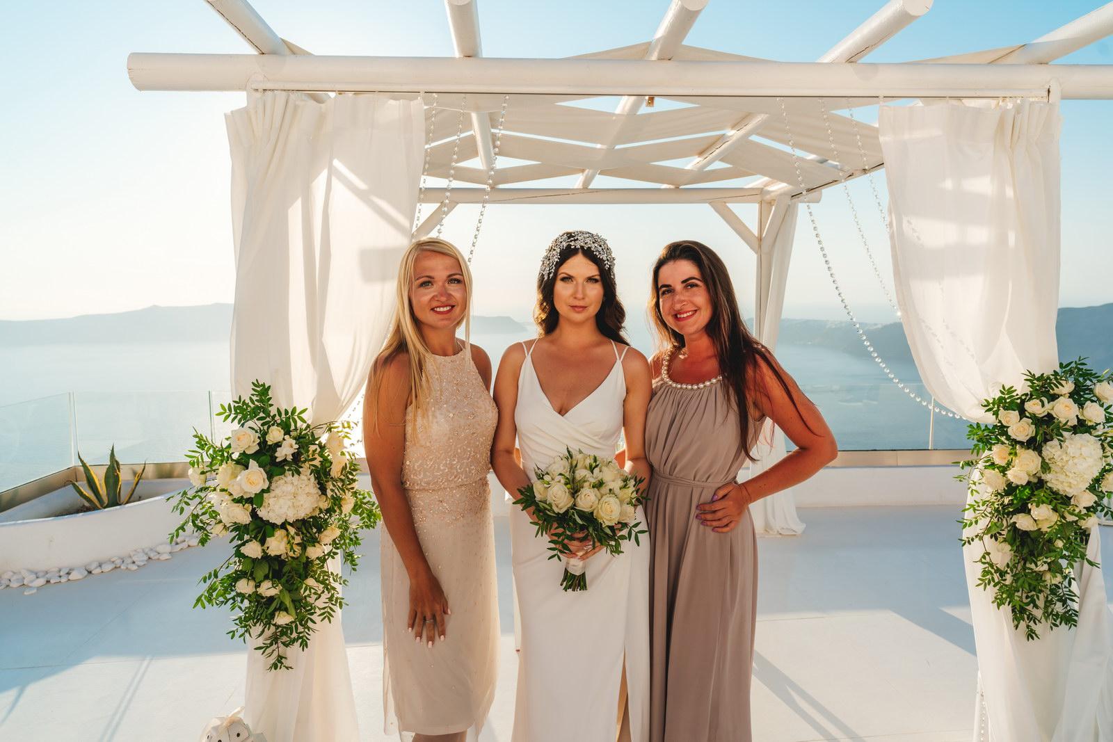 Анастасия и Сурен: свадьба на санторини, свадебное агентство Julia Veselova - Фото 32