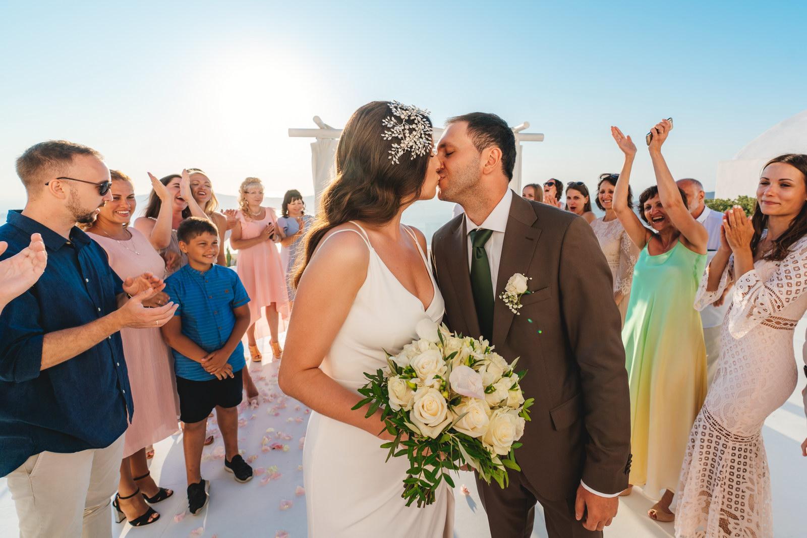 Анастасия и Сурен: свадьба на санторини, свадебное агентство Julia Veselova - Фото 34