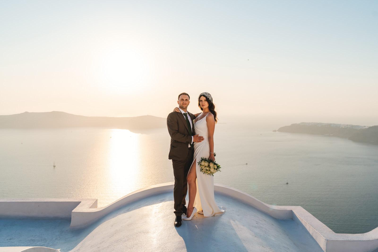 Анастасия и Сурен: свадьба на санторини, свадебное агентство Julia Veselova - Фото 35