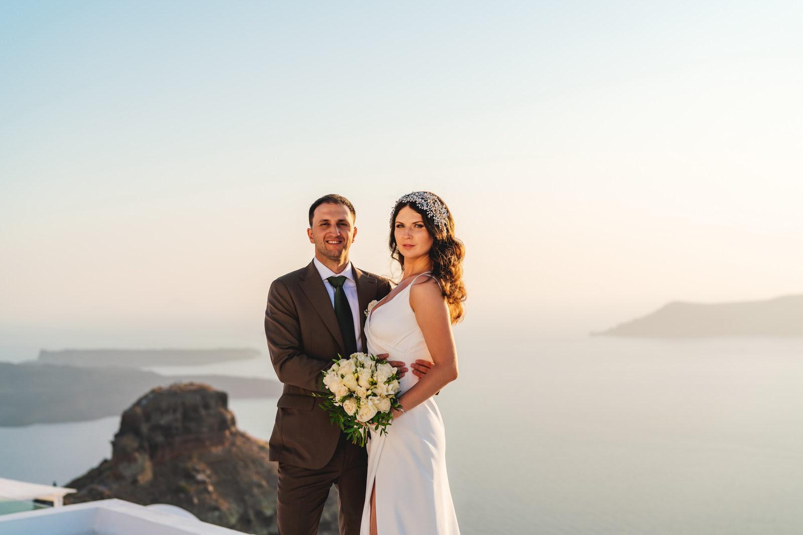Анастасия и Сурен: свадьба на санторини, свадебное агентство Julia Veselova - Фото 36