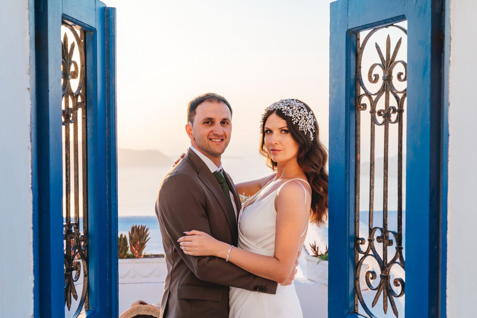 Анастасия и Сурен: свадьба на санторини, свадебное агентство Julia Veselova - Фото 37