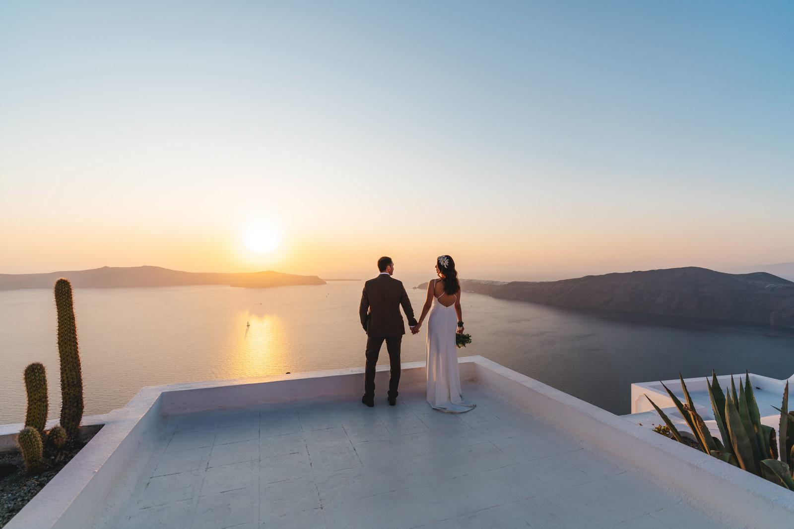 Анастасия и Сурен: свадьба на санторини, свадебное агентство Julia Veselova - Фото 39