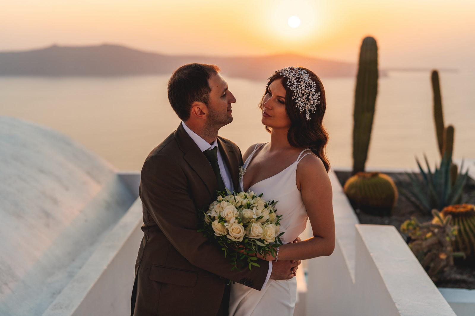 Анастасия и Сурен: свадьба на санторини, свадебное агентство Julia Veselova - Фото 40