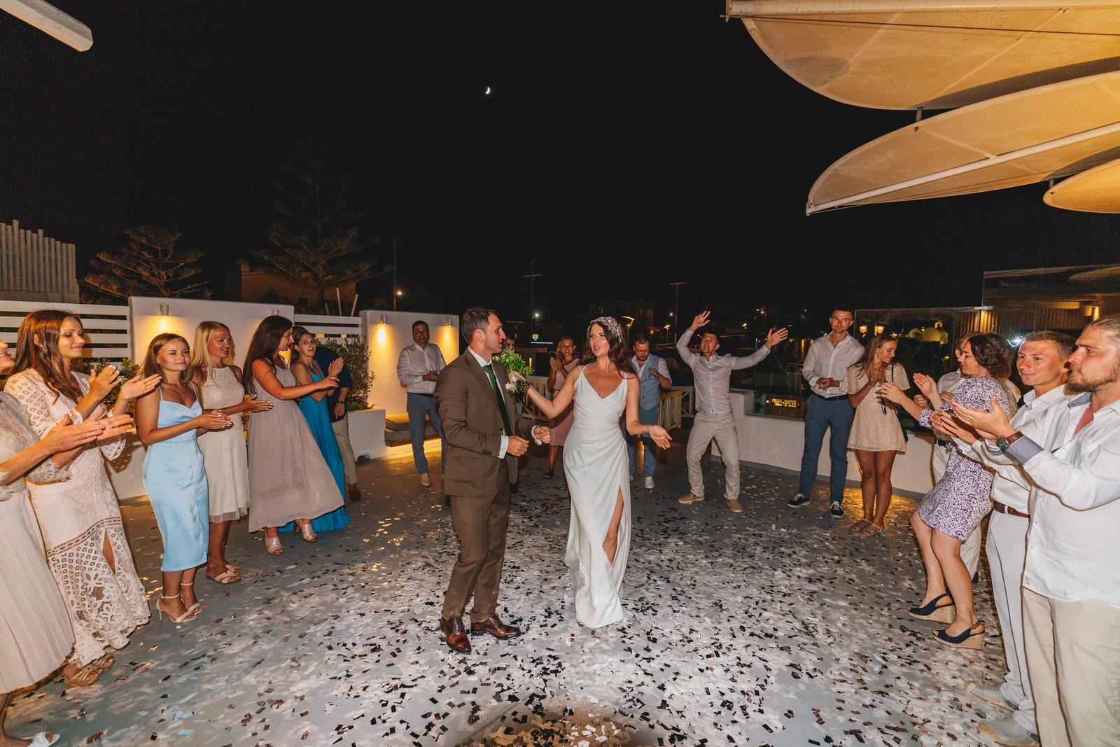 Анастасия и Сурен: свадьба на санторини, свадебное агентство Julia Veselova - Фото 45