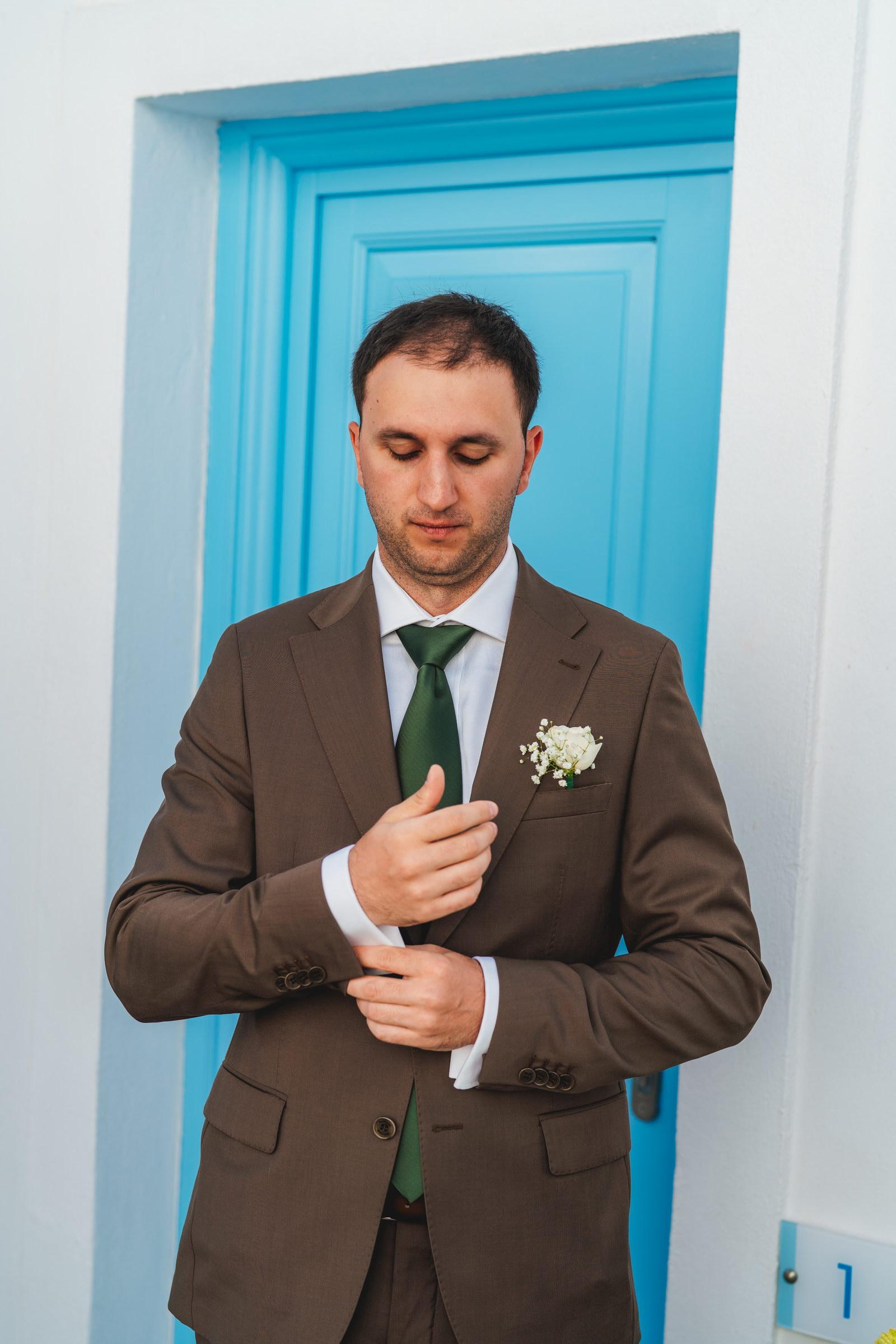 Анастасия и Сурен: свадьба на санторини, свадебное агентство Julia Veselova - Фото 13