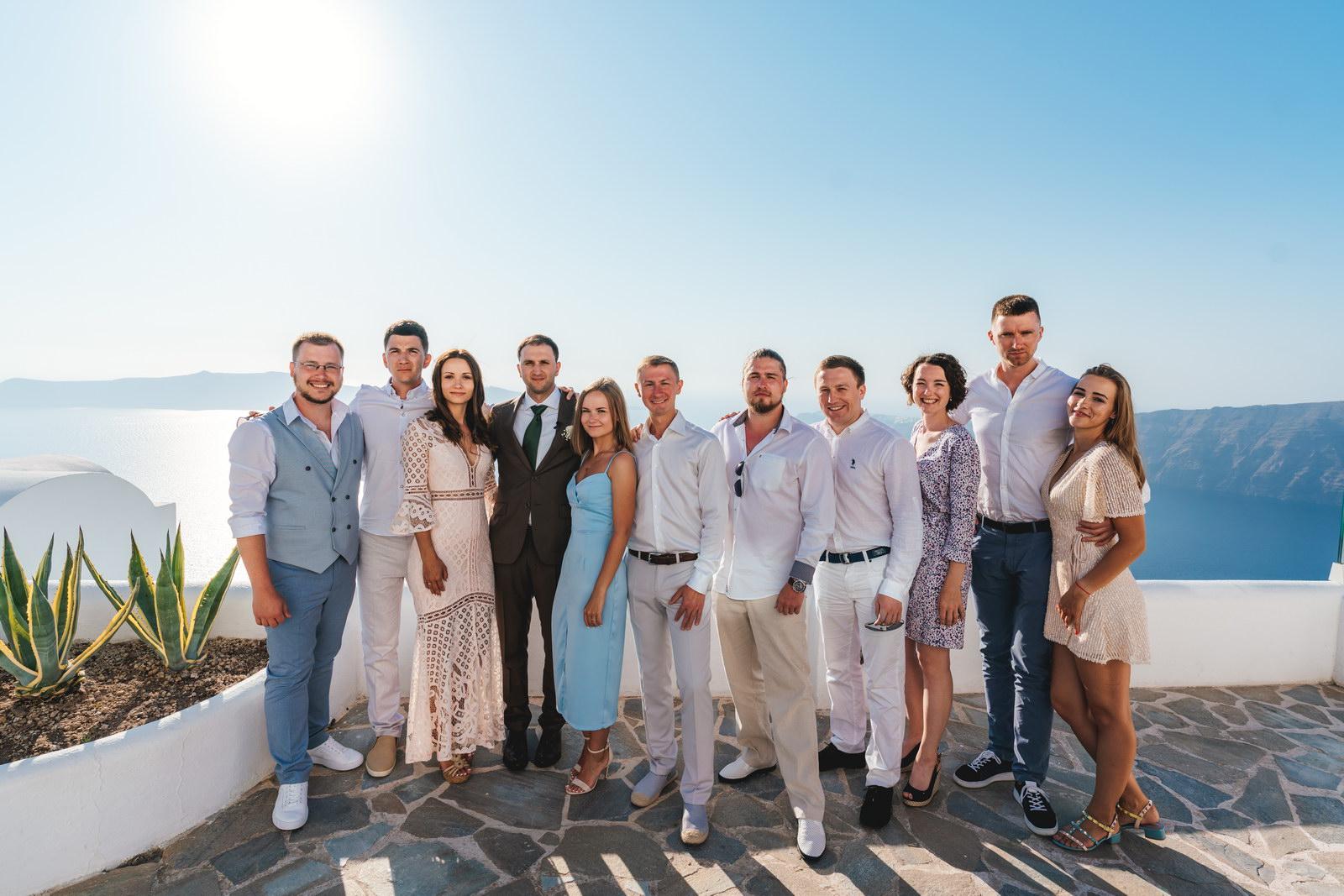 Анастасия и Сурен: свадьба на санторини, свадебное агентство Julia Veselova - Фото 16