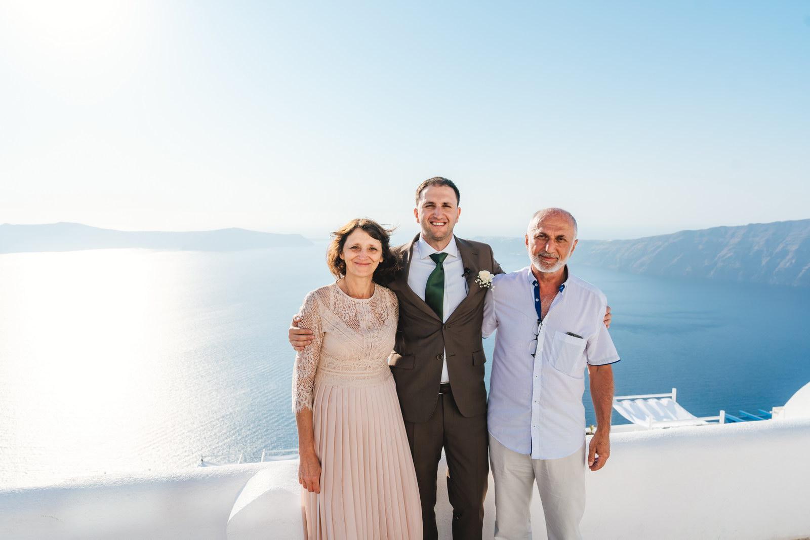 Анастасия и Сурен: свадьба на санторини, свадебное агентство Julia Veselova - Фото 17