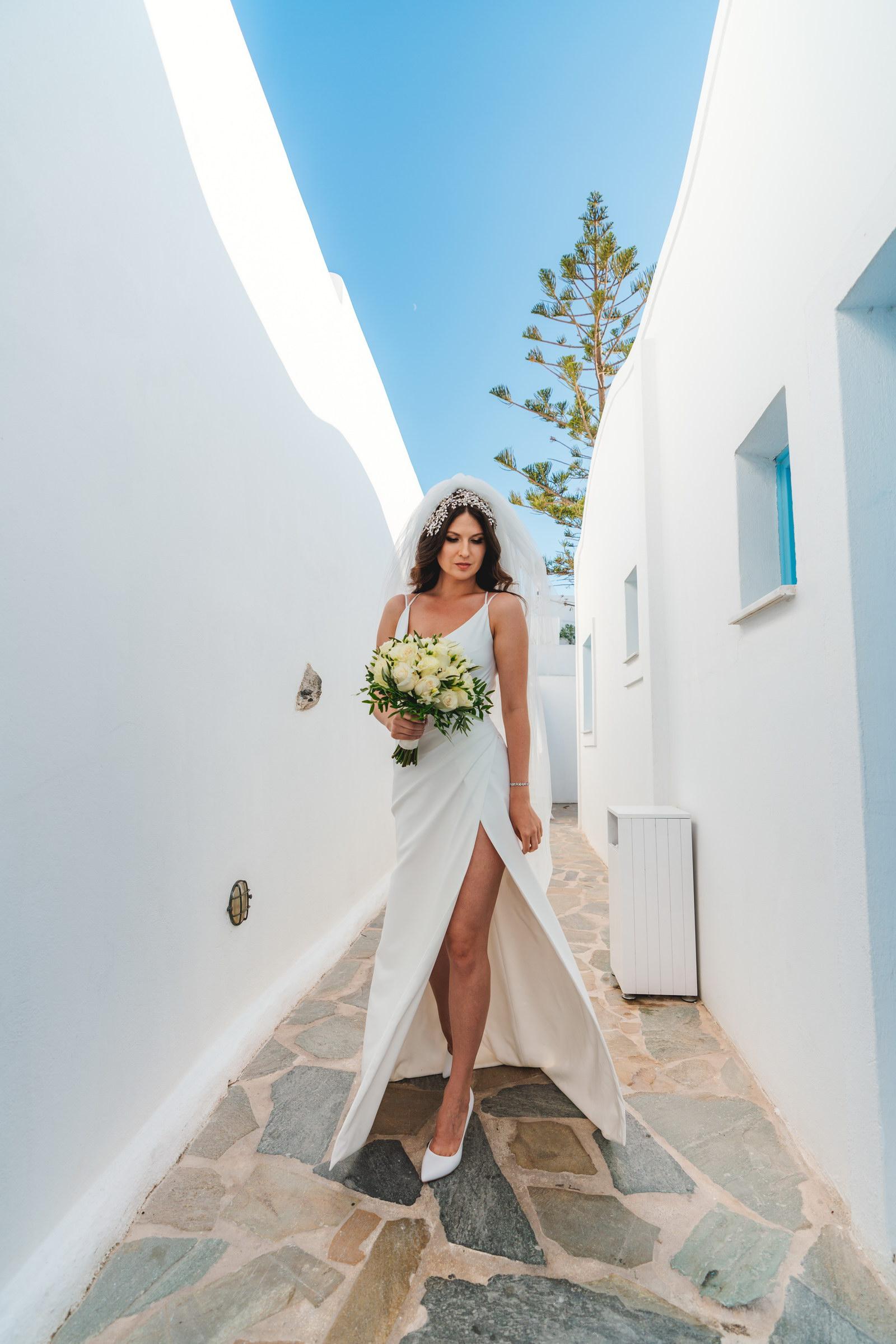 Анастасия и Сурен: свадьба на санторини, свадебное агентство Julia Veselova - Фото 18