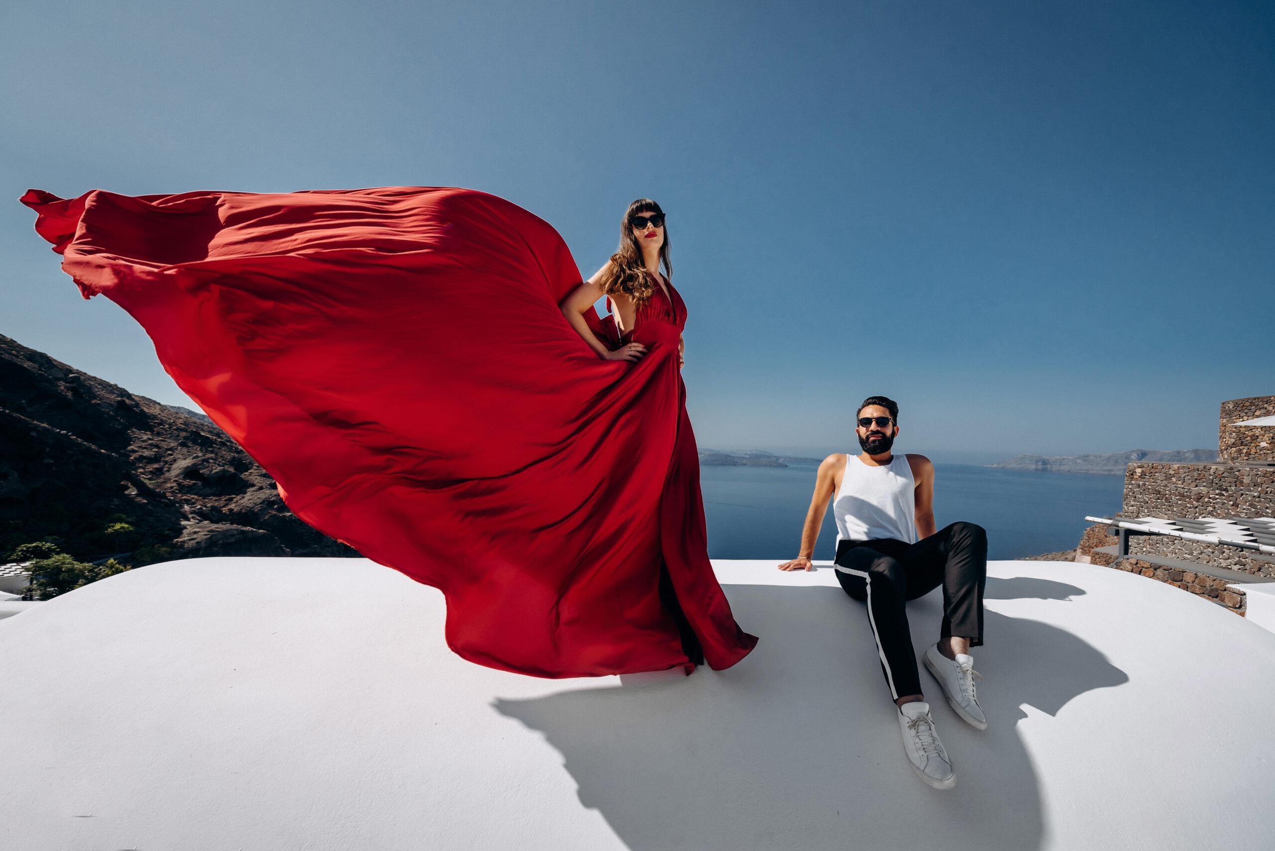 Орнелла и Станислав: свадьба на санторини, свадебное агентство Julia Veselova - Фото 1