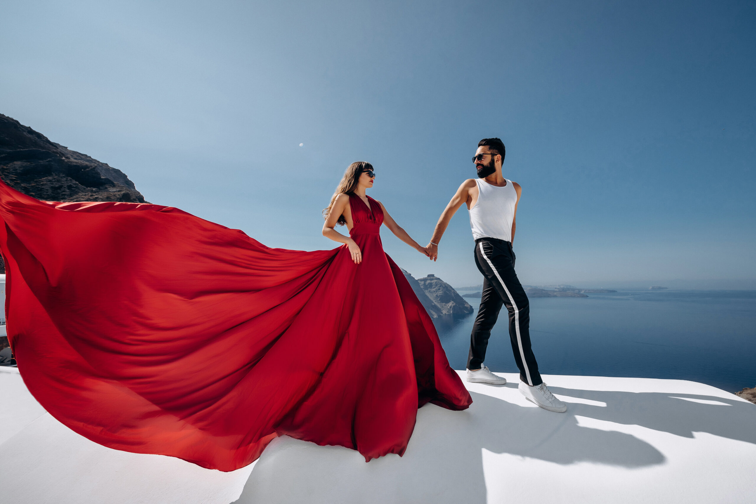 Орнелла и Станислав: свадьба на санторини, свадебное агентство Julia Veselova - Фото 2