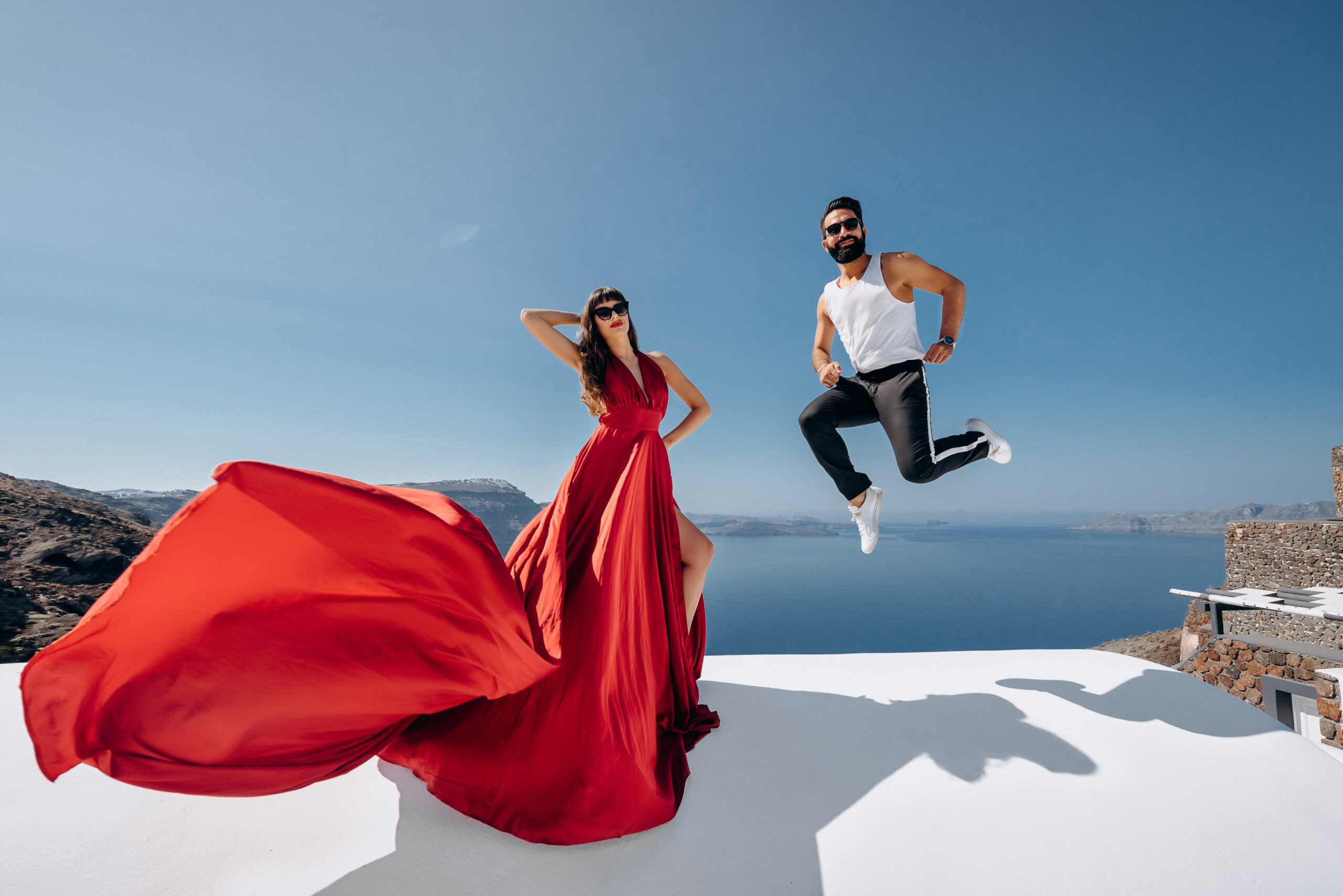 Орнелла и Станислав: свадьба на санторини, свадебное агентство Julia Veselova - Фото 3