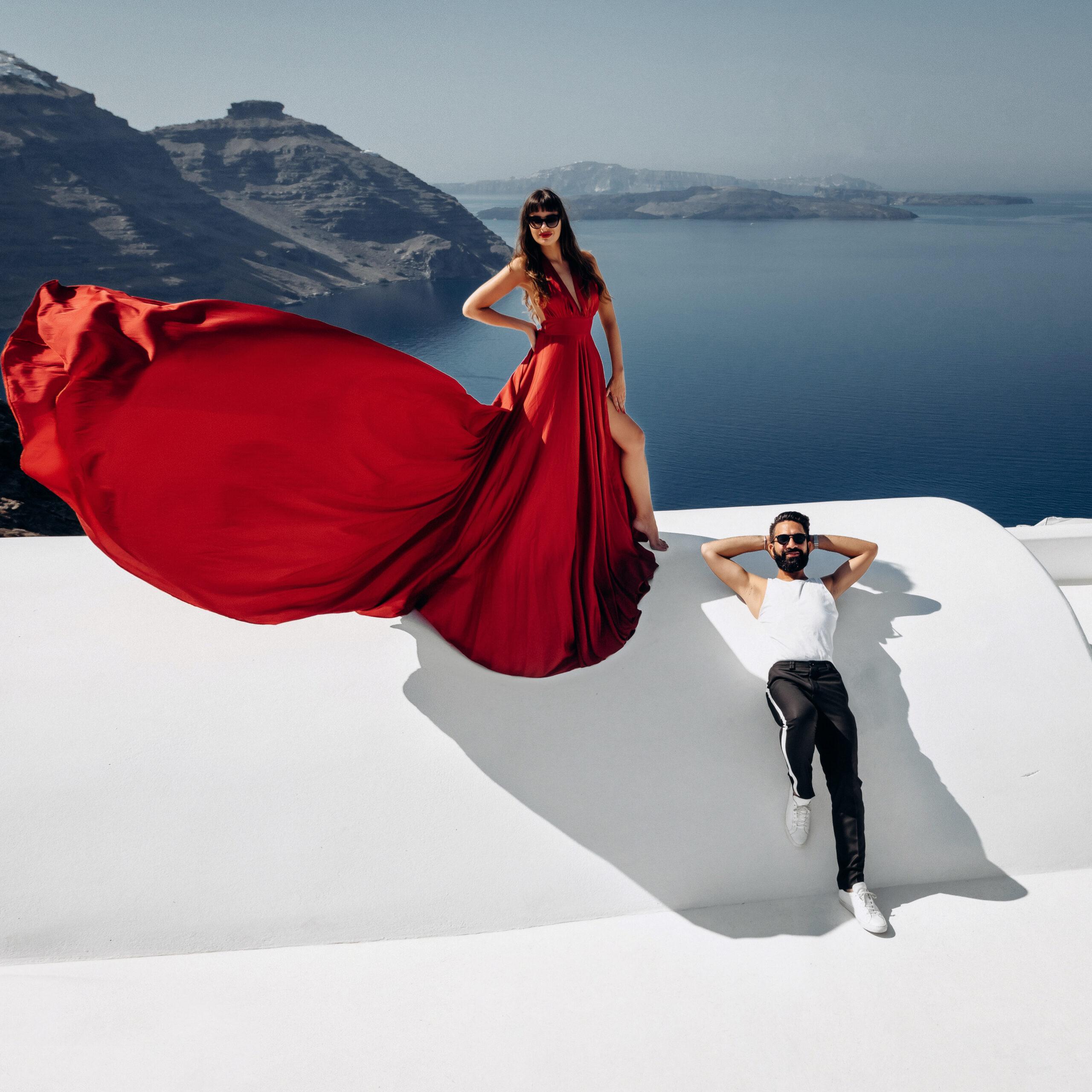 Орнелла и Станислав: свадьба на санторини, свадебное агентство Julia Veselova - Фото 4