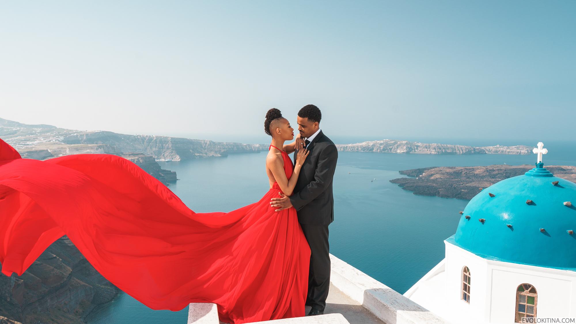 Patrick & Sara: свадьба на санторини, свадебное агентство Julia Veselova - Фото 1