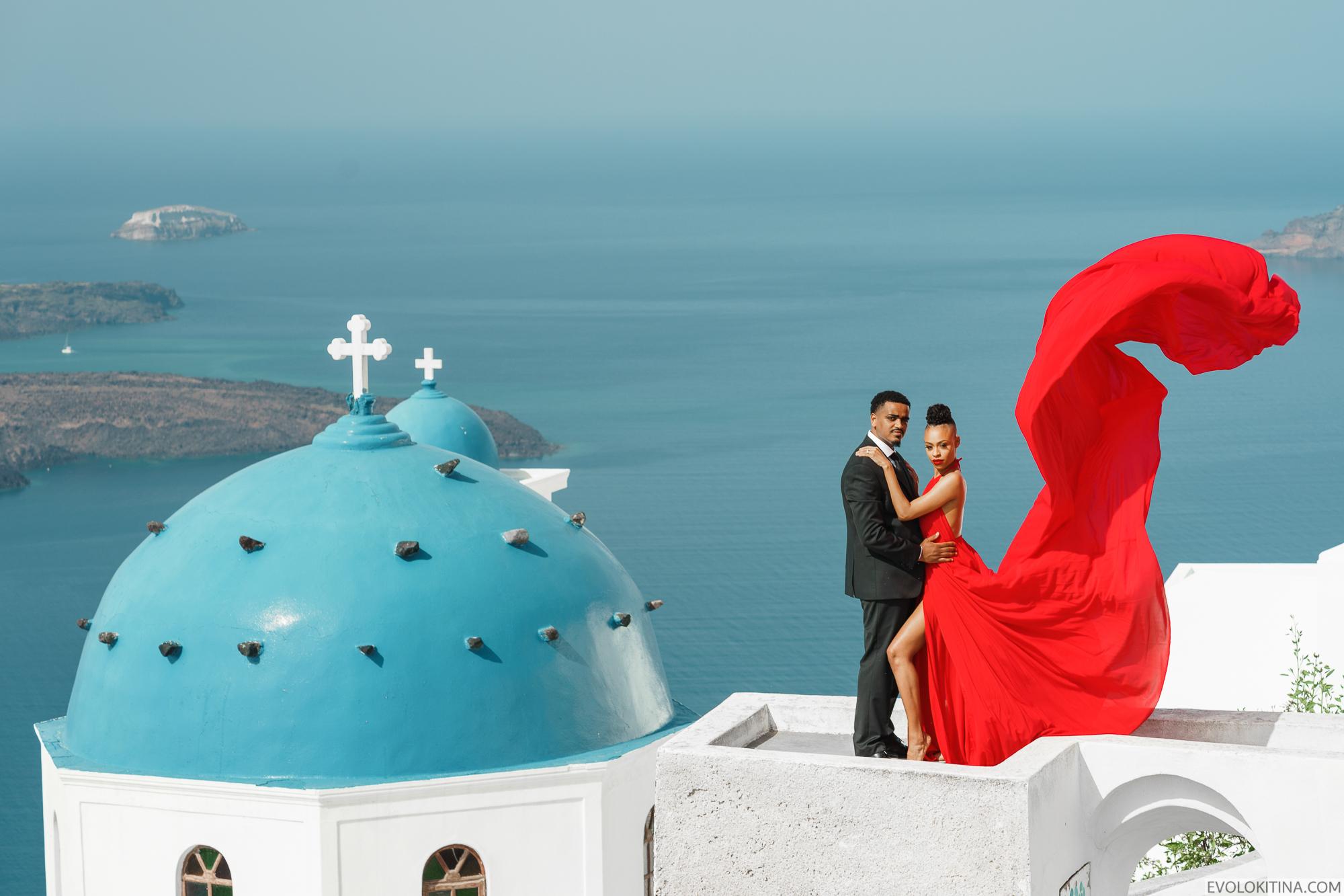 Patrick & Sara: свадьба на санторини, свадебное агентство Julia Veselova - Фото 2