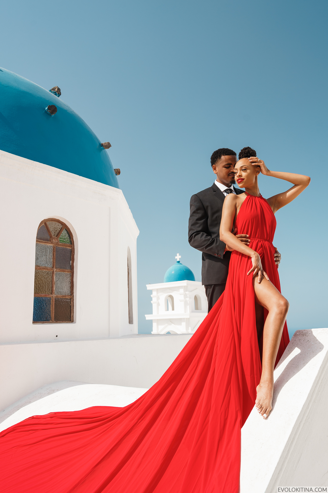 Patrick & Sara: свадьба на санторини, свадебное агентство Julia Veselova - Фото 5