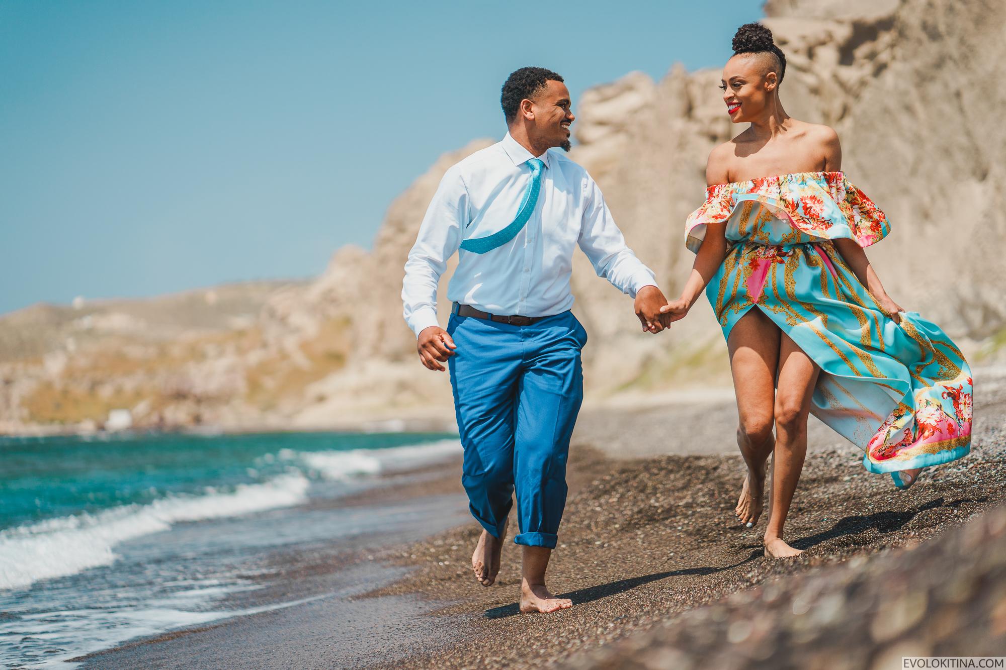 Patrick & Sara: свадьба на санторини, свадебное агентство Julia Veselova - Фото 14