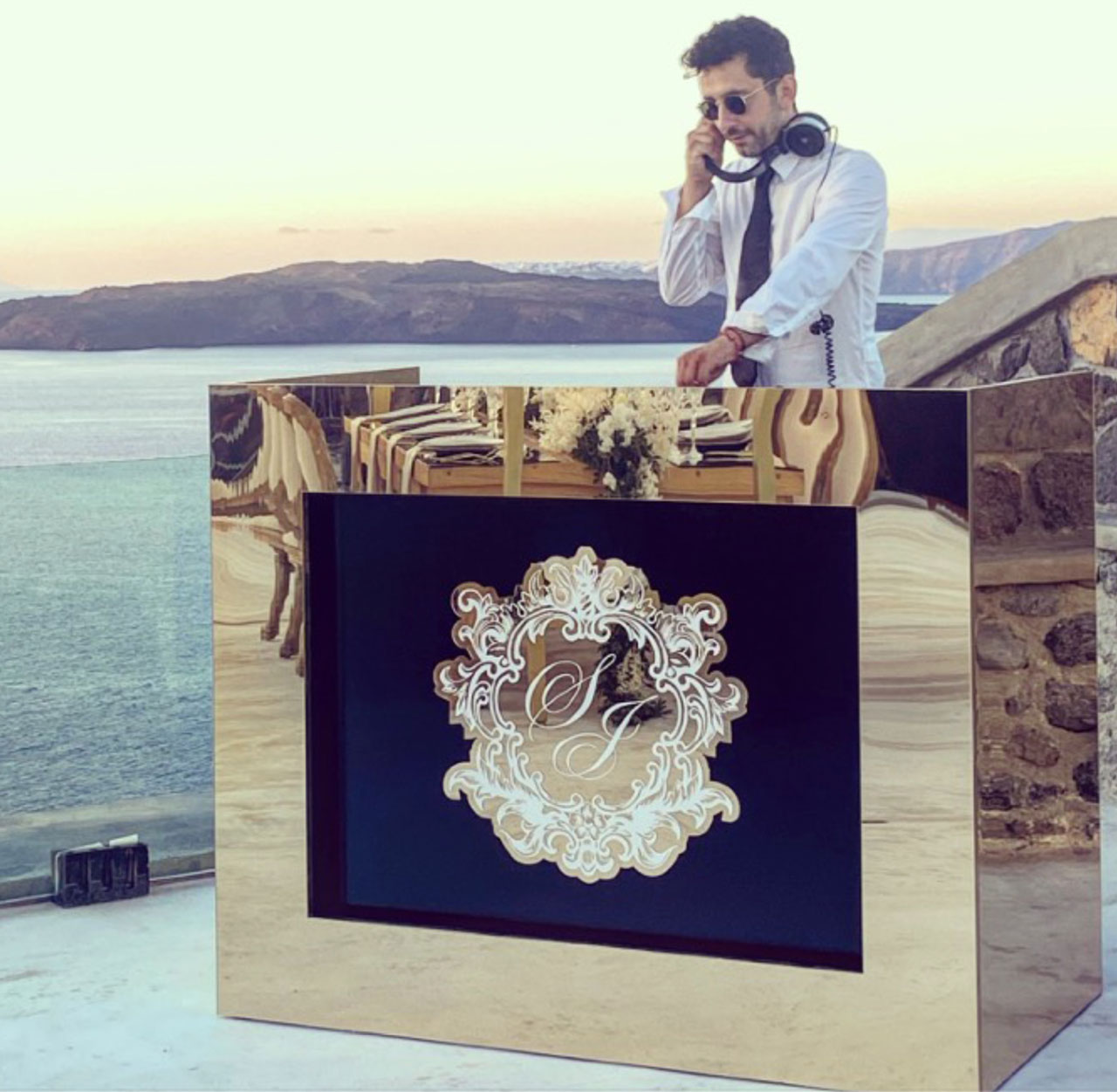 Свадебный Dj на Санторини: свадьба на санторини, свадебное агентство Julia Veselova - Фото 1
