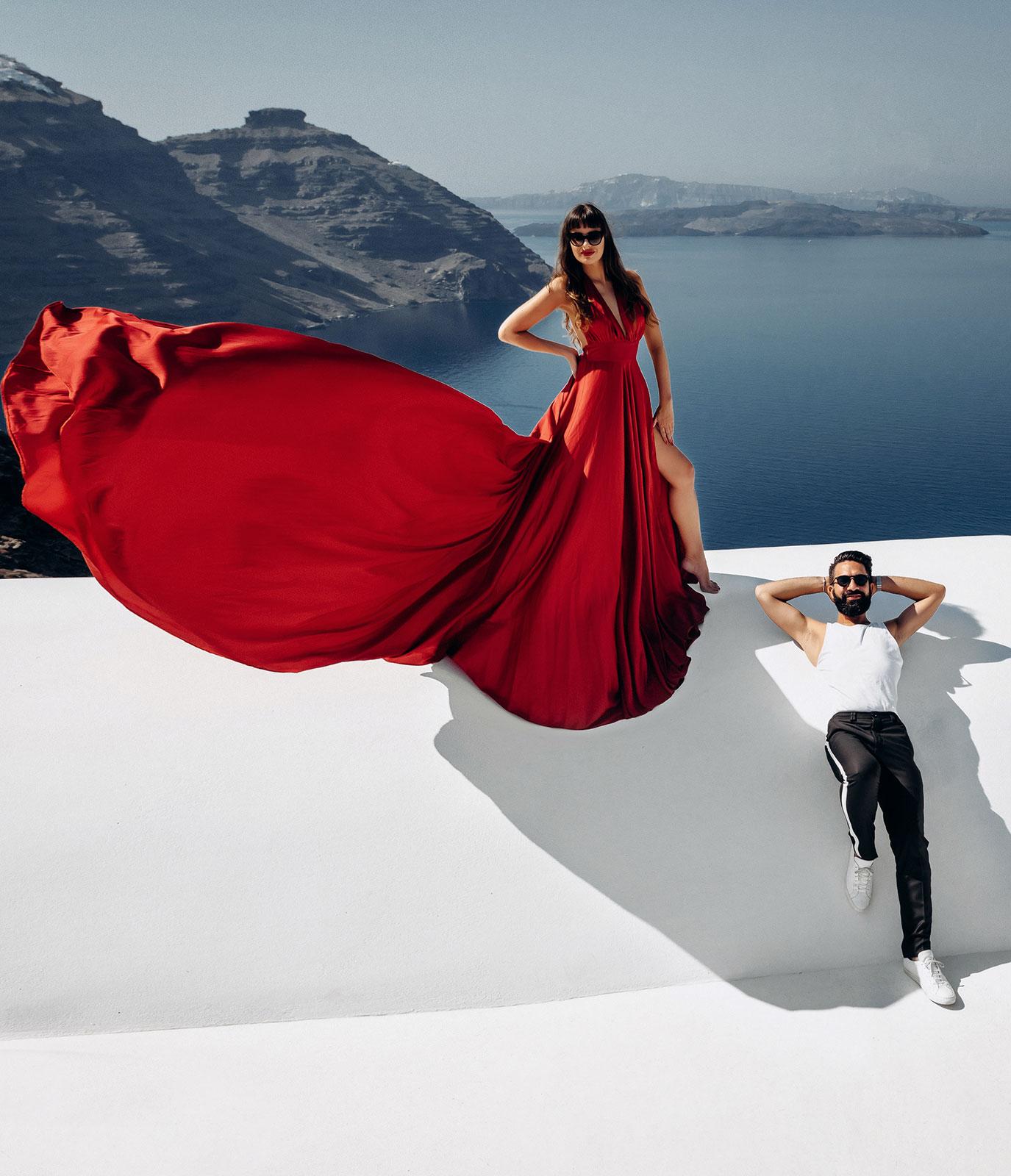 Свадьба в Греции: свадьба на санторини, свадебное агентство Julia Veselova - Фото